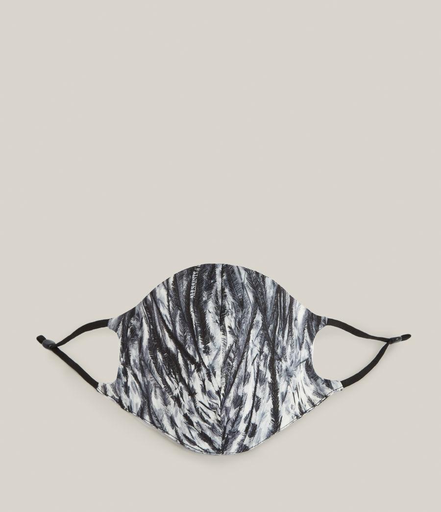 Damen Pembury Silk Blend Face Mask (ink_blue) - Image 1