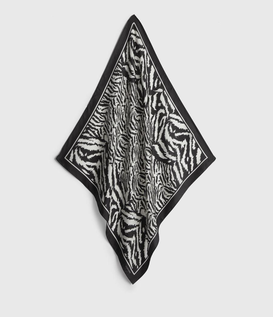 Womens Remix Silk Bandana (chalk_white) - Image 1