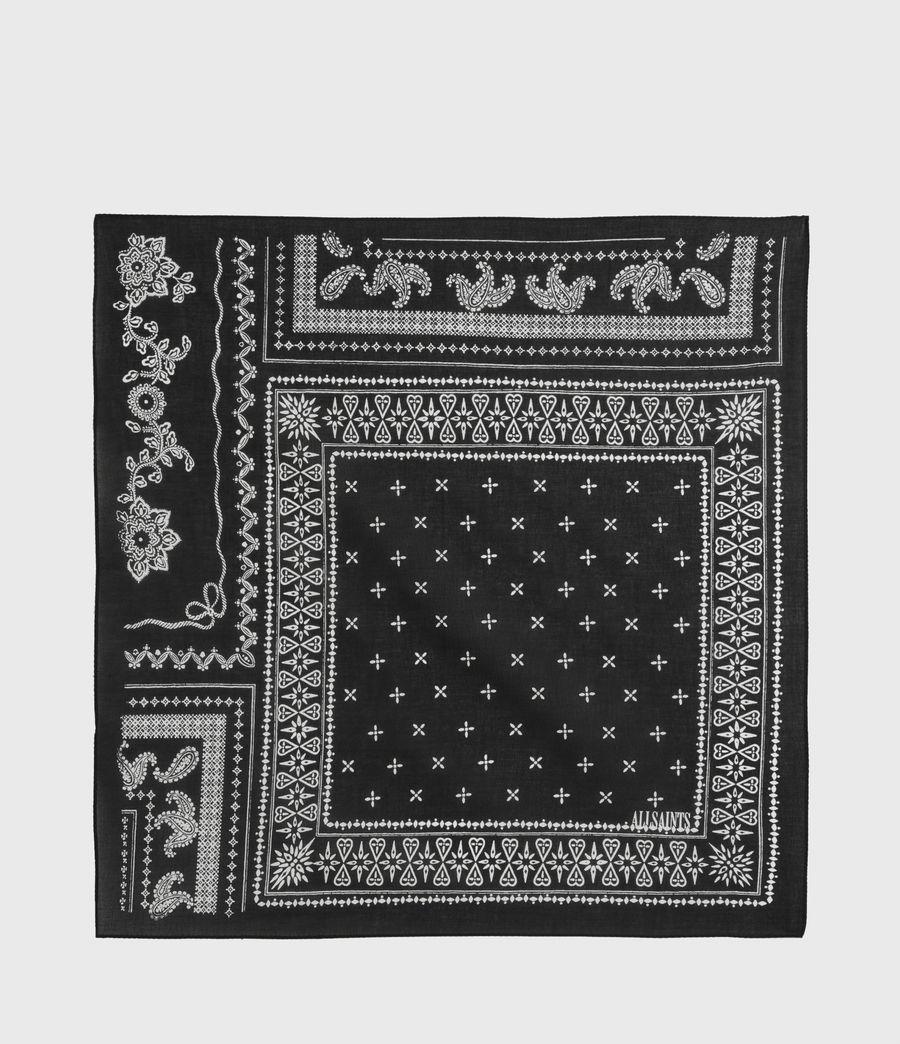 Women's AllSaints Organic Cotton Bandana (black) - Image 5