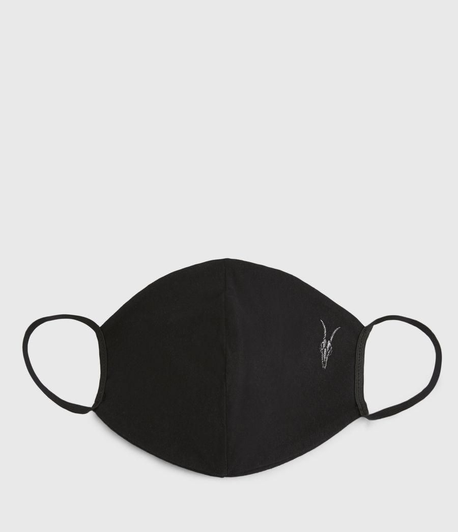 Womens Ramskull Face Mask (black) - Image 1