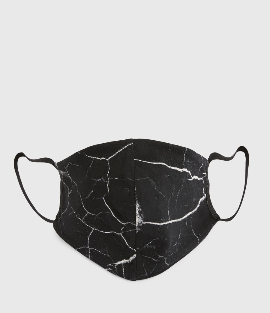 Womens Hope Cotton Face Mask (black) - Image 1