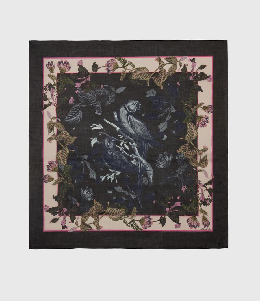 Womens Paradeep Square Scarf (black) - Image 2
