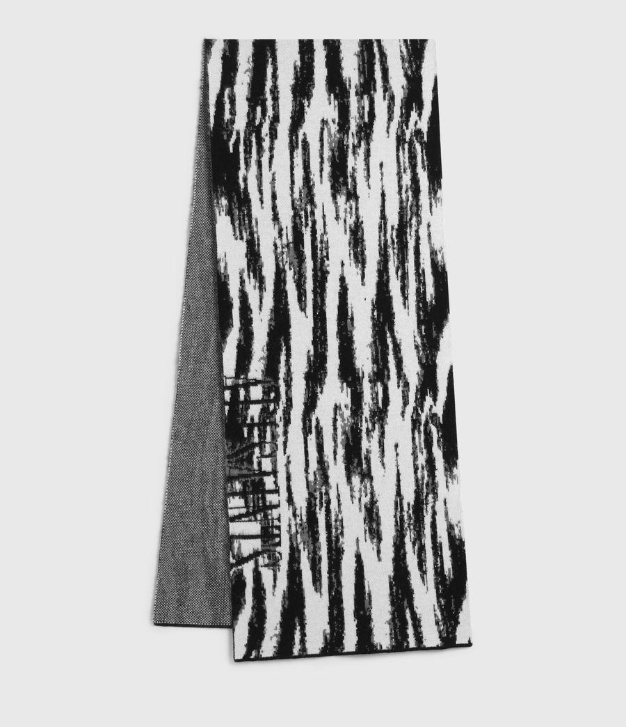 Womens Camo Merino Wool Scarf (chalk_white) - Image 2
