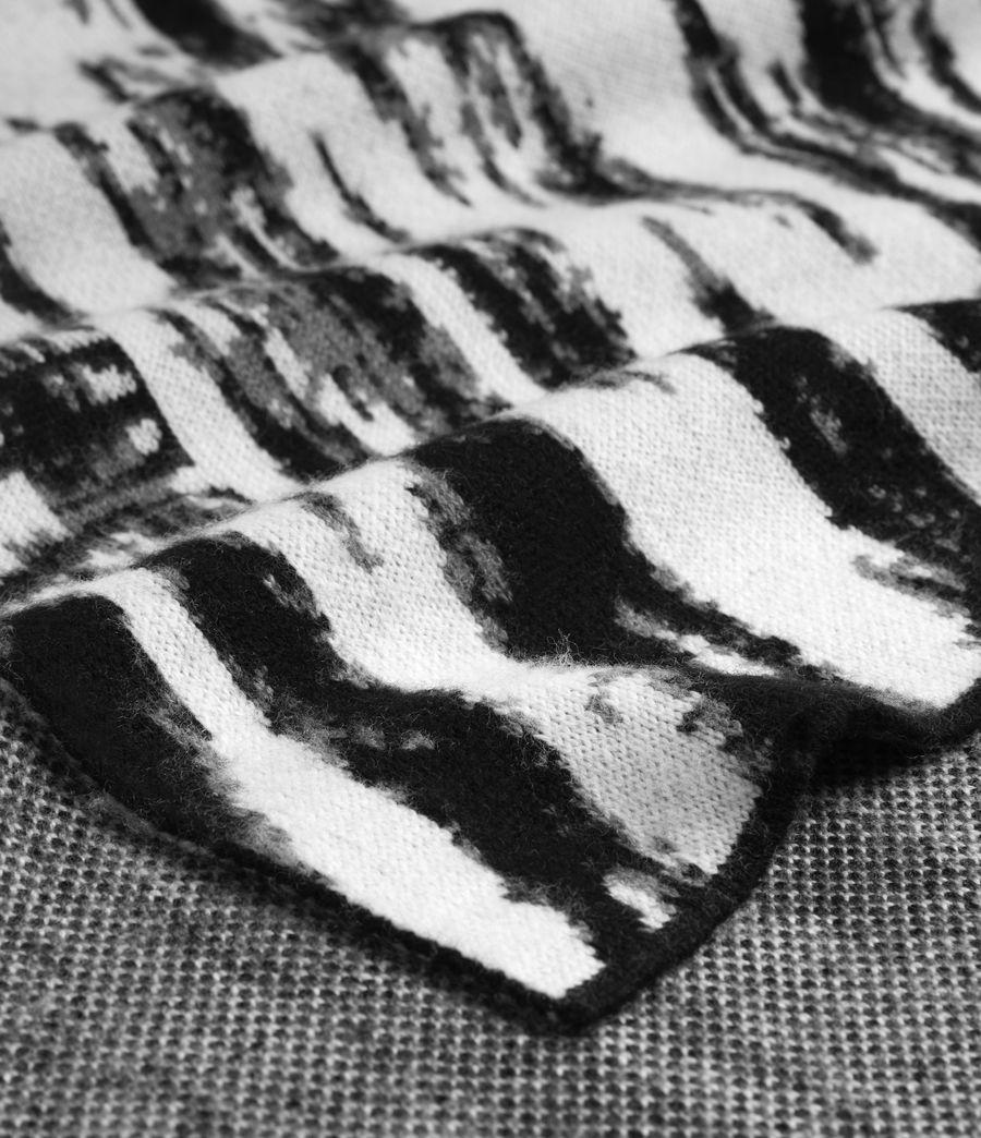 Womens Camo Merino Wool Scarf (chalk_white) - Image 3
