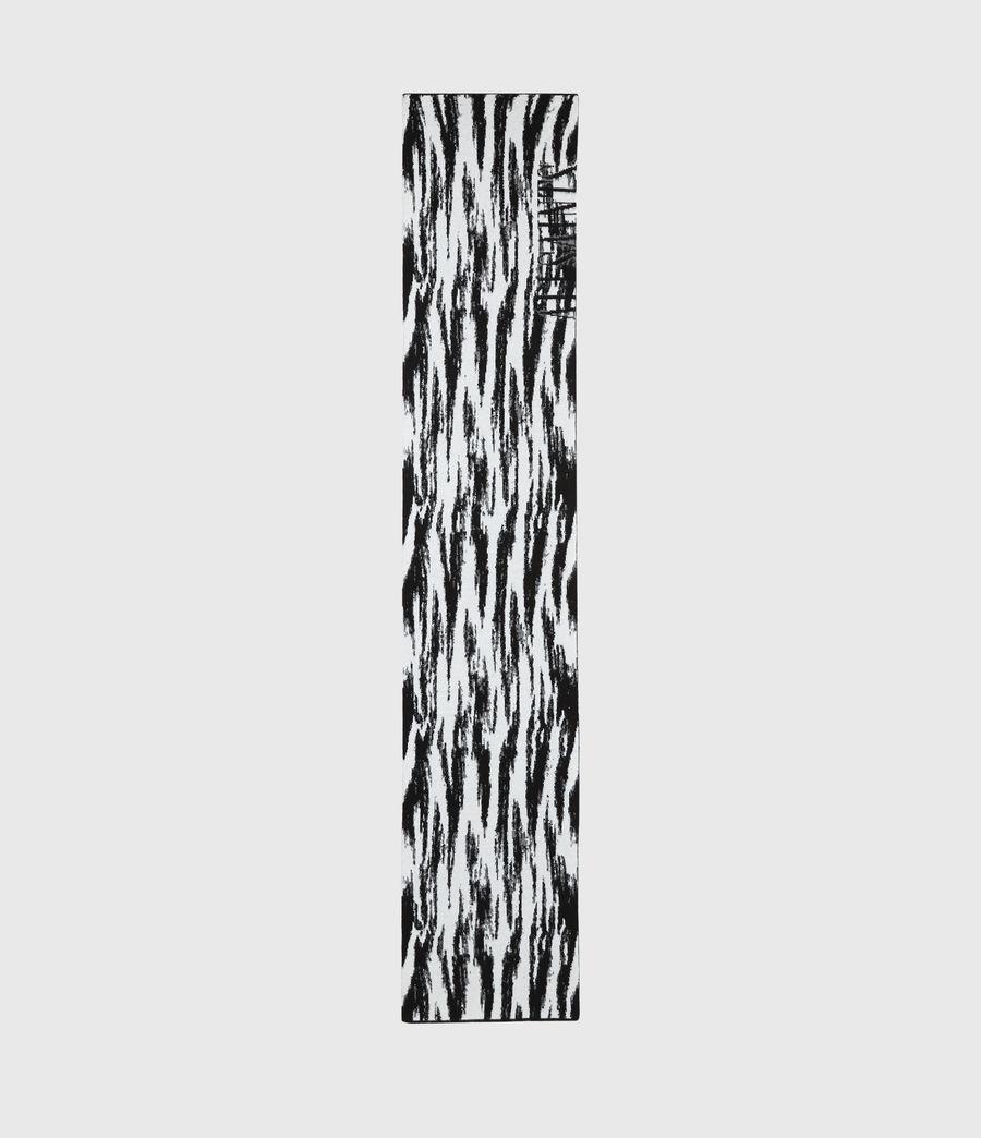Womens Camo Merino Wool Scarf (chalk_white) - Image 4