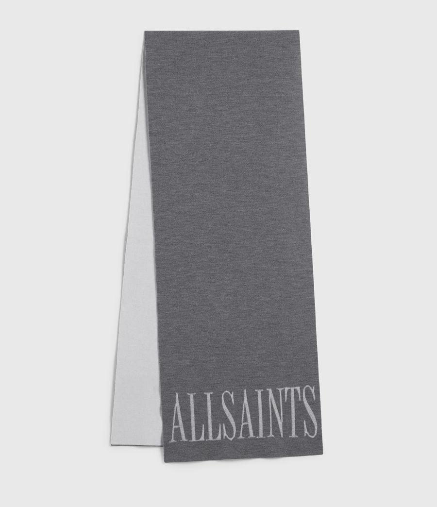 Womens Aspen Merino Wool Scarf (grey_chalk) - Image 1