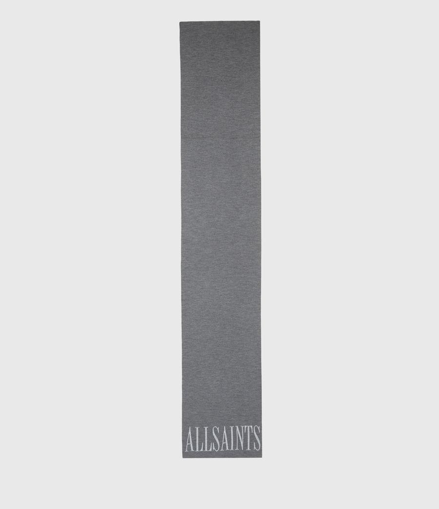 Womens Aspen Merino Wool Scarf (grey_chalk) - Image 3