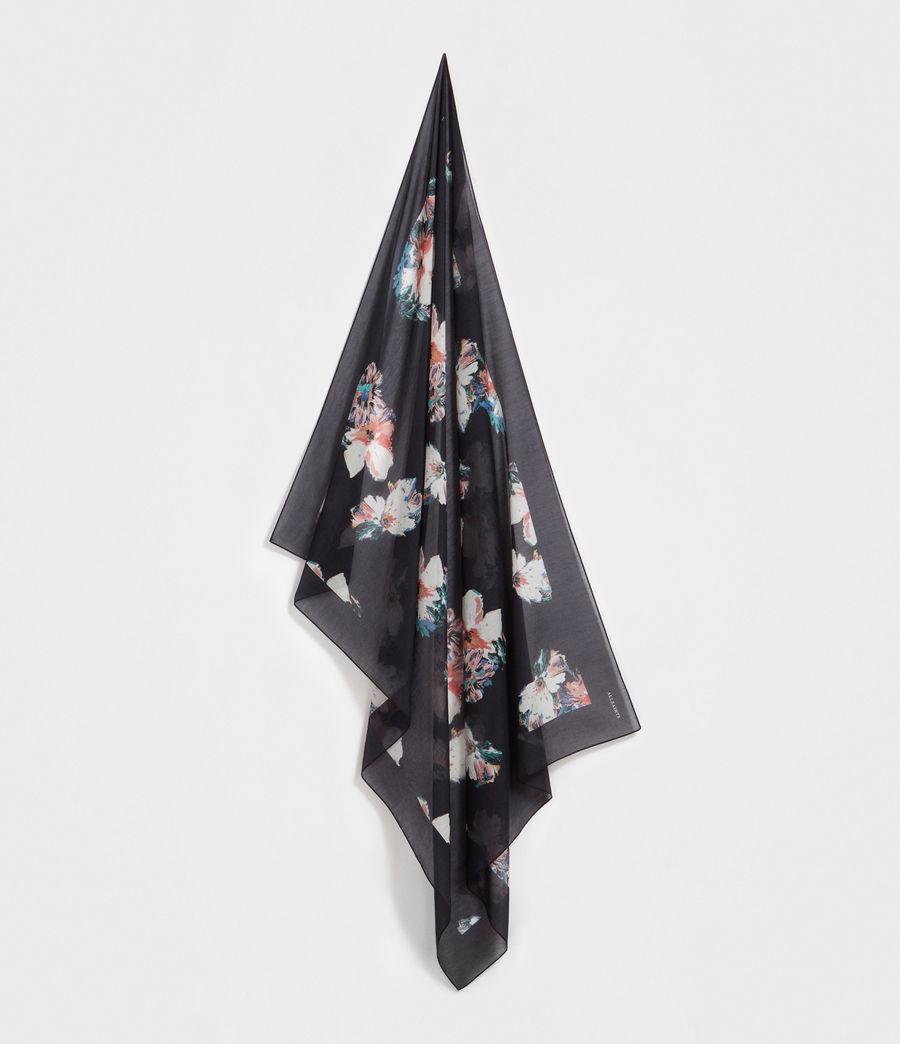 Women's Violy Pareo Scarf (black) - Image 1