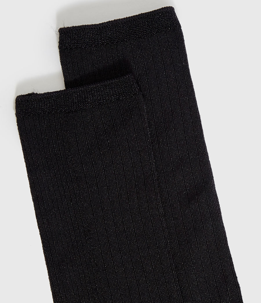 Women's Delta Socks (black) - Image 2