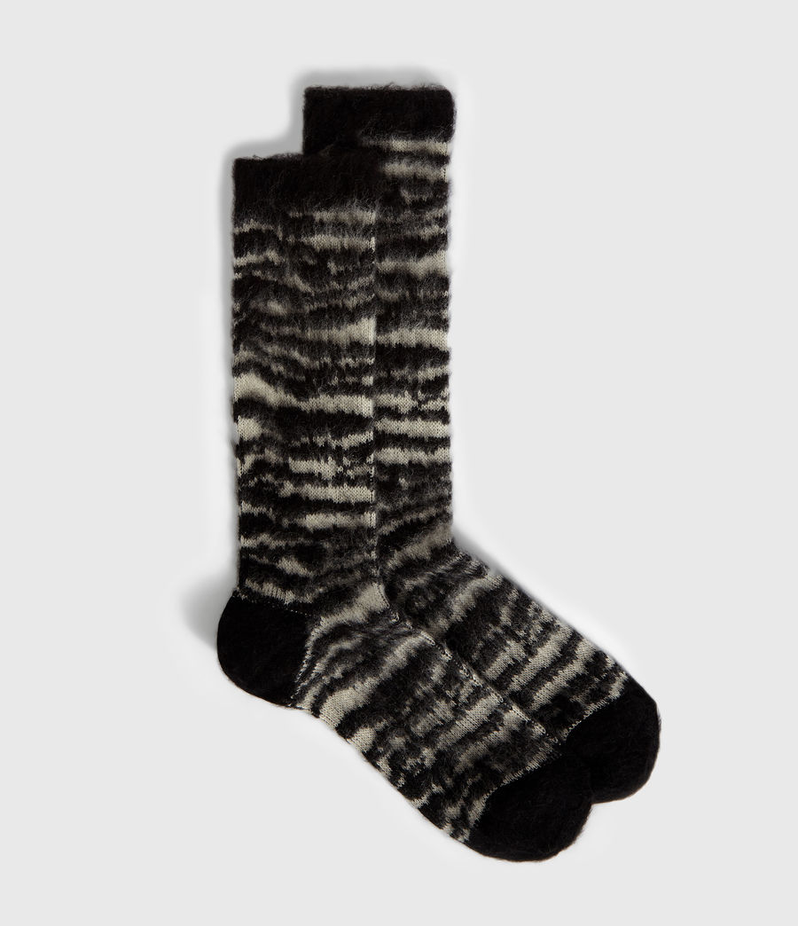 Women's Saiph Socks (black) - Image 1
