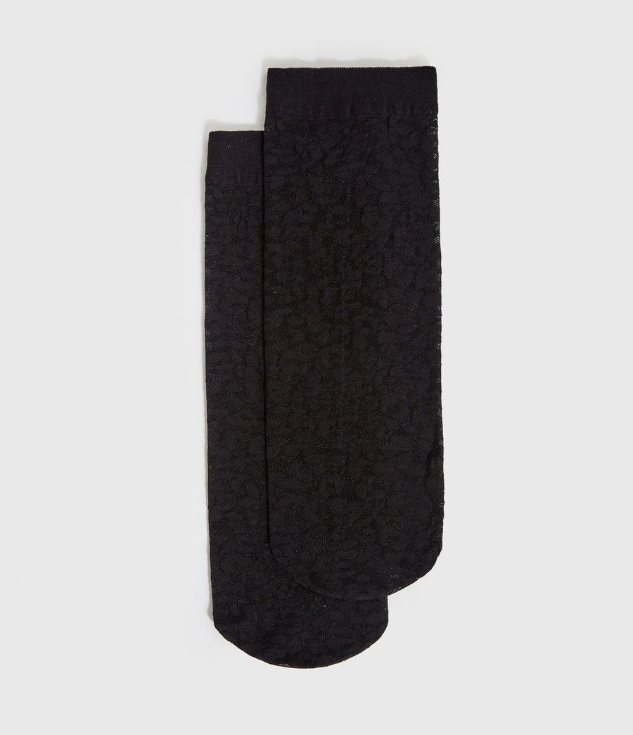 Womens Sultan Socks (black) - Image 1