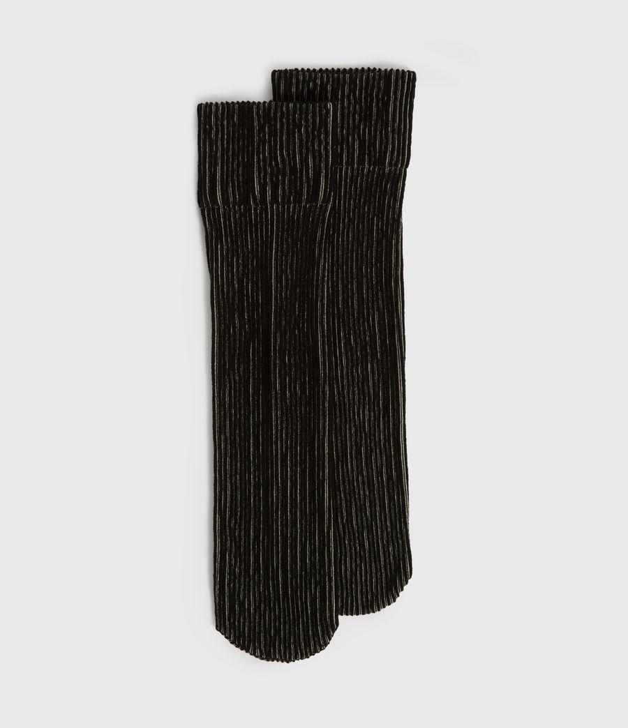 Womens Fyke Anklet Socks (black) - Image 1