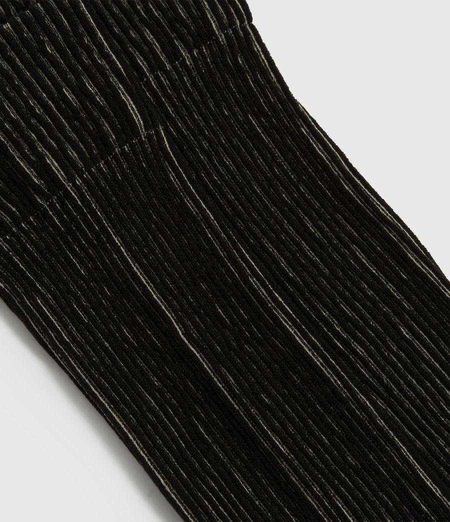 Womens Fyke Anklet Socks (black) - Image 2
