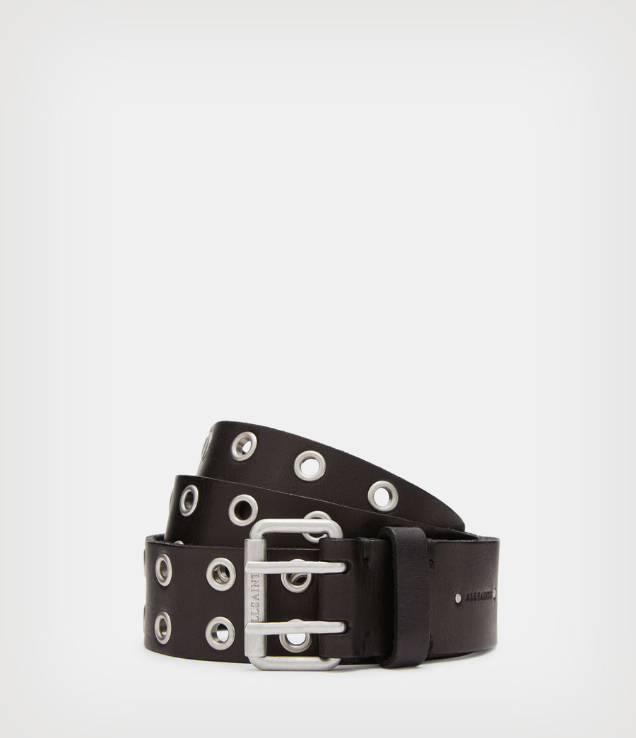 Womens Iryna Leather Belt (black) - Image 1
