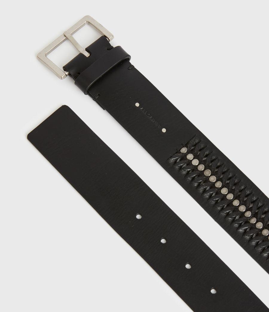 Women's Cleo Leather Belt (black) - Image 3