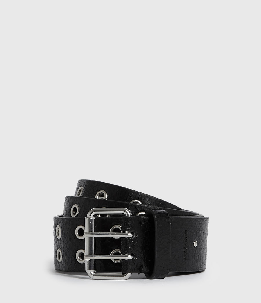 Women's Andree Leather Belt (black) - Image 1