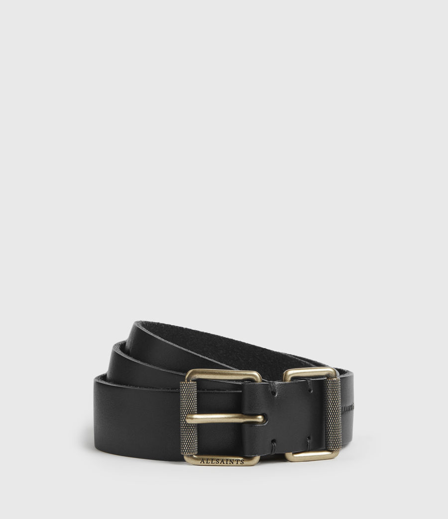 Womens Reethi Leather Belt (black) - Image 1