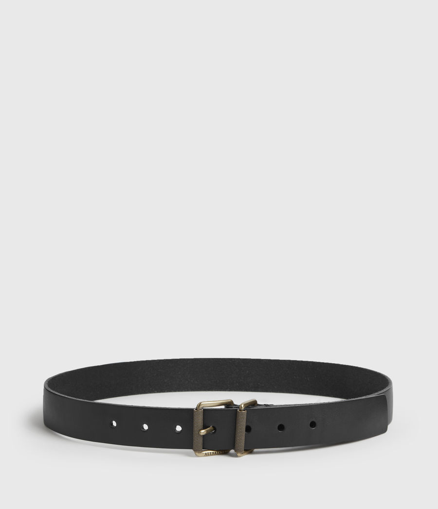 Womens Reethi Leather Belt (black) - Image 5