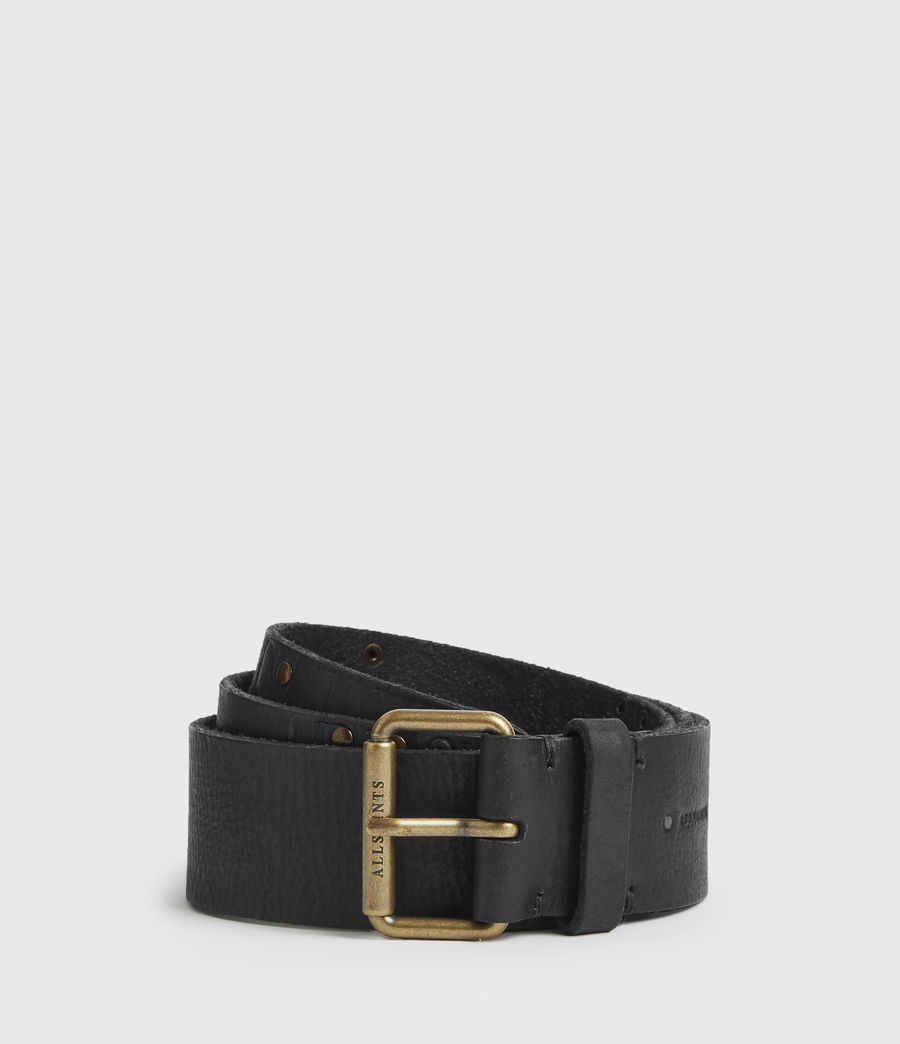 Womens Nido Leather Belt (black) - Image 1