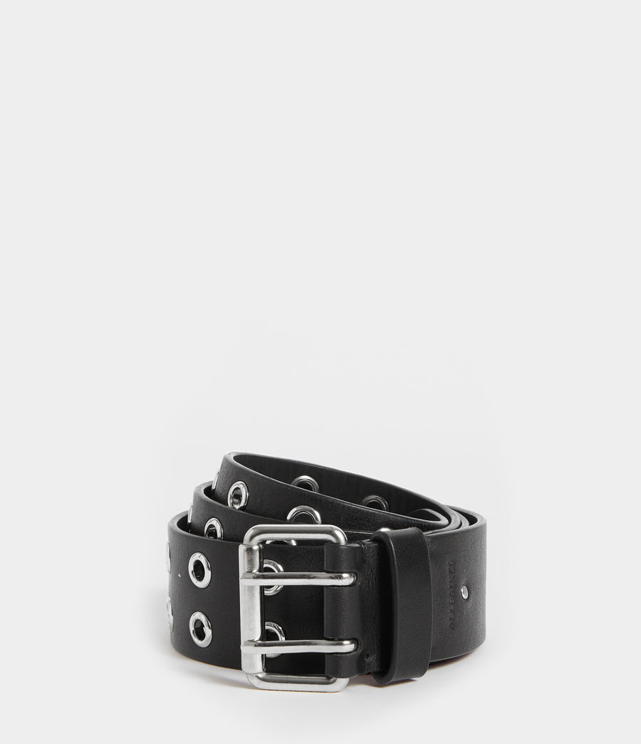 Women's Iryna Leather Belt (black) - Image 1