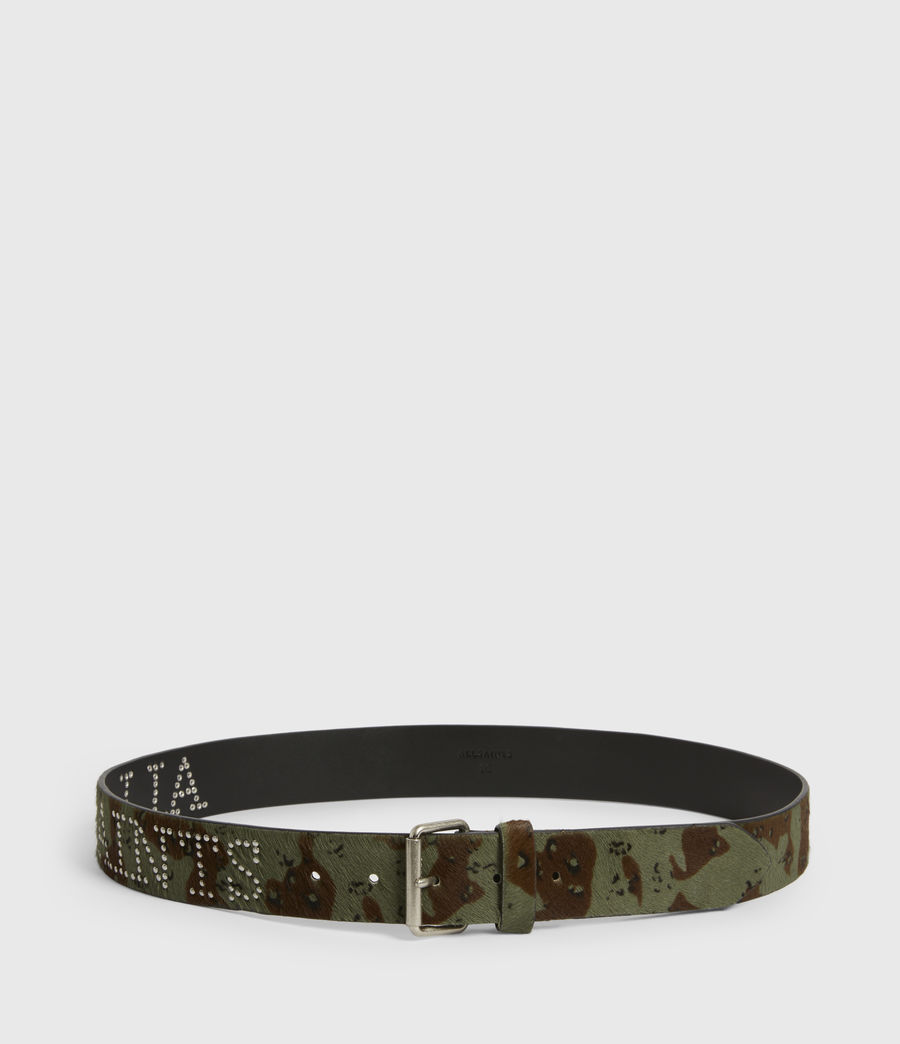 Women's Laia Leather Belt (camo) - Image 4