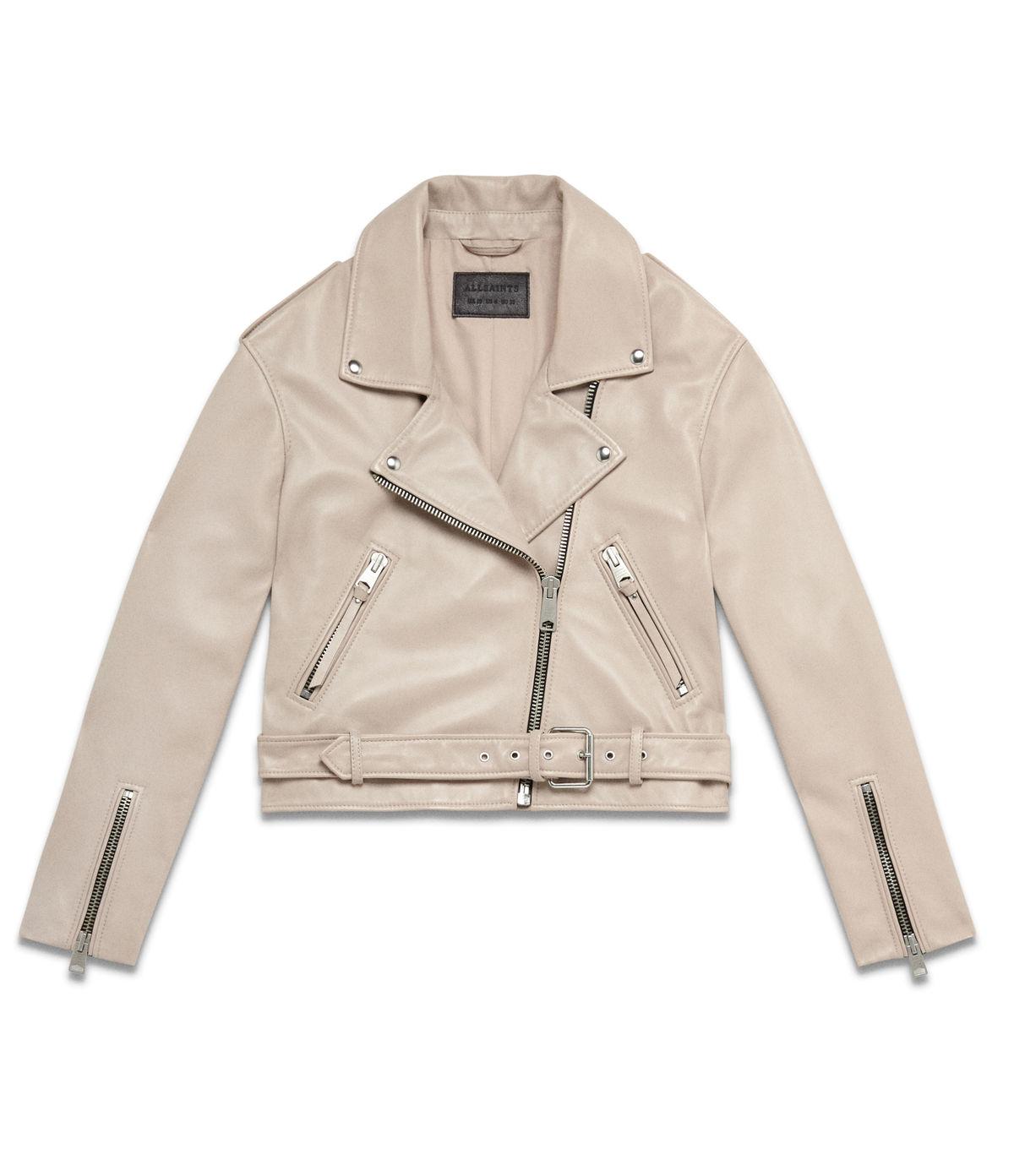 Women's Anderson Leather Biker Jacket