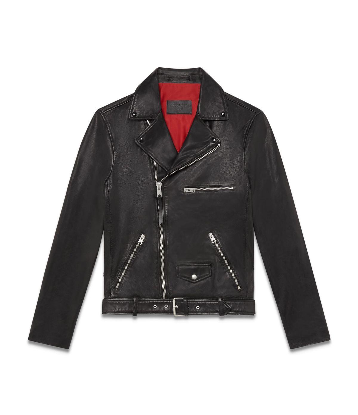 Men's Kodey Leather Biker Jacket