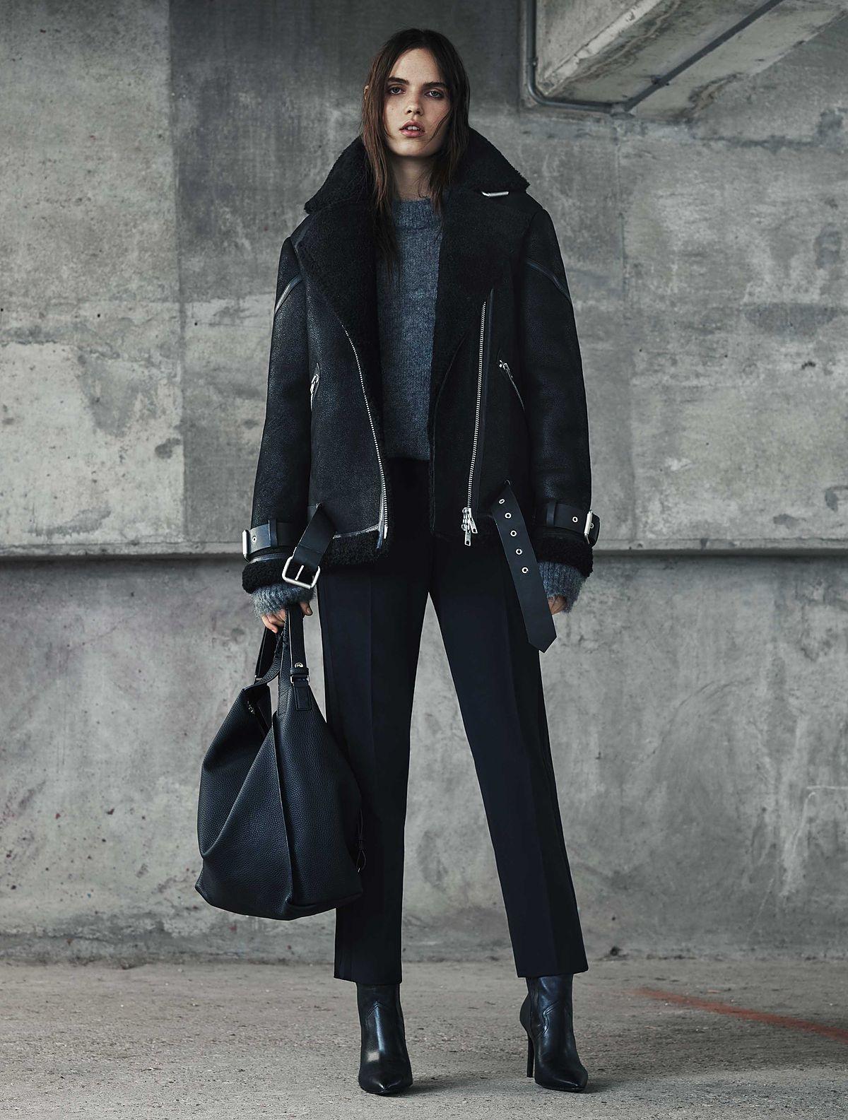 Oversized Shearling Coat Fashion Women S Coat 2017