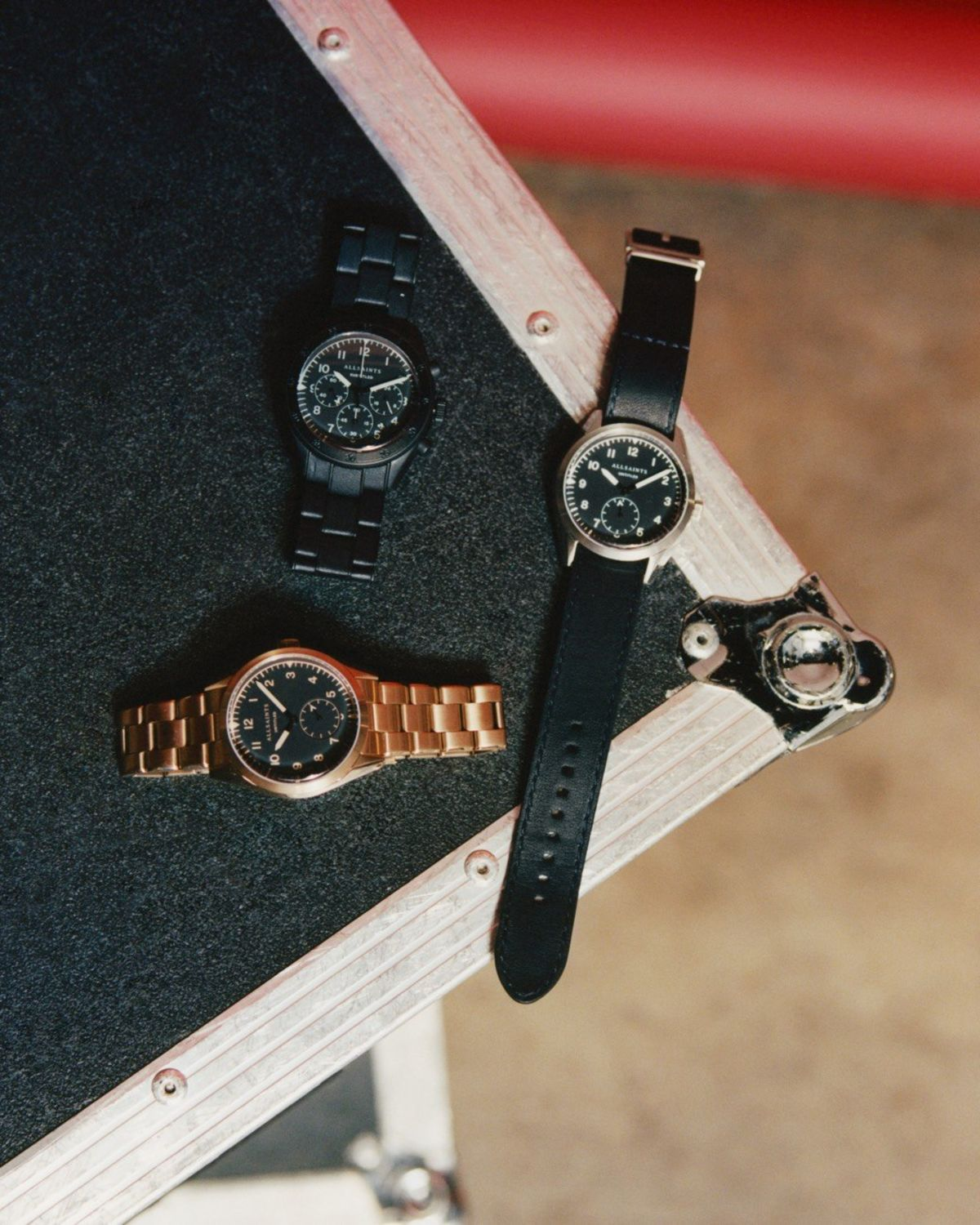 Image of three of our new watches for men.