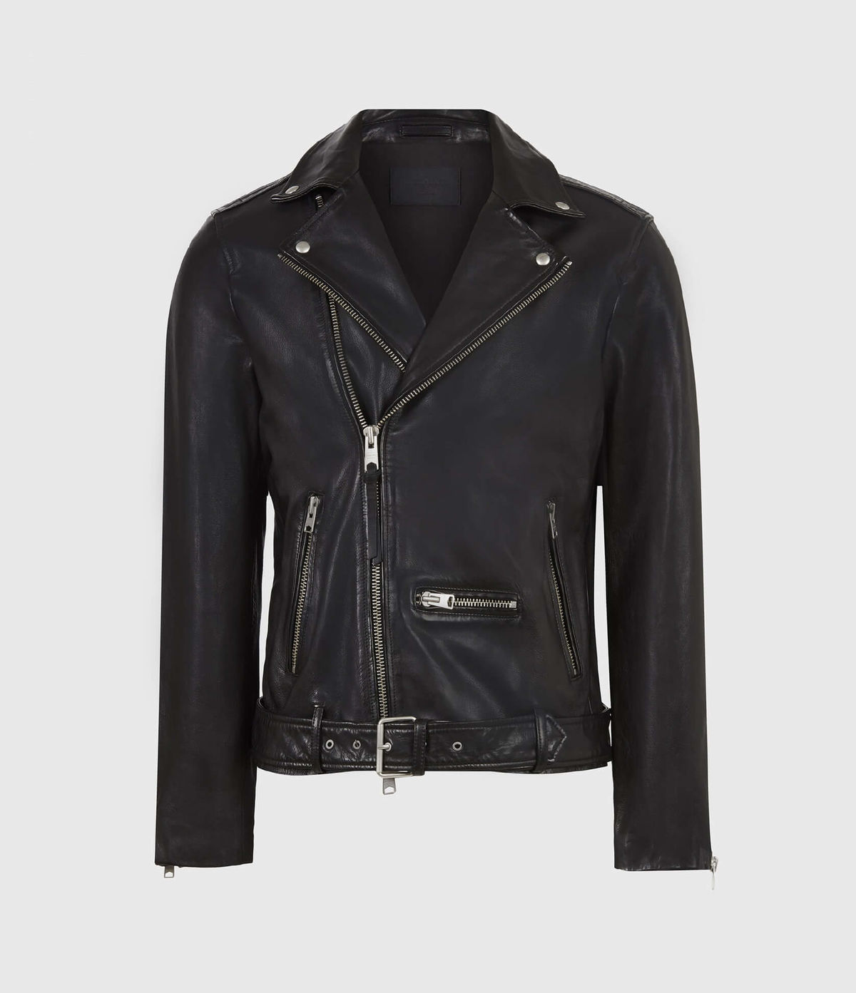 Men's Wick Leather Jacket - Hover for Measurements