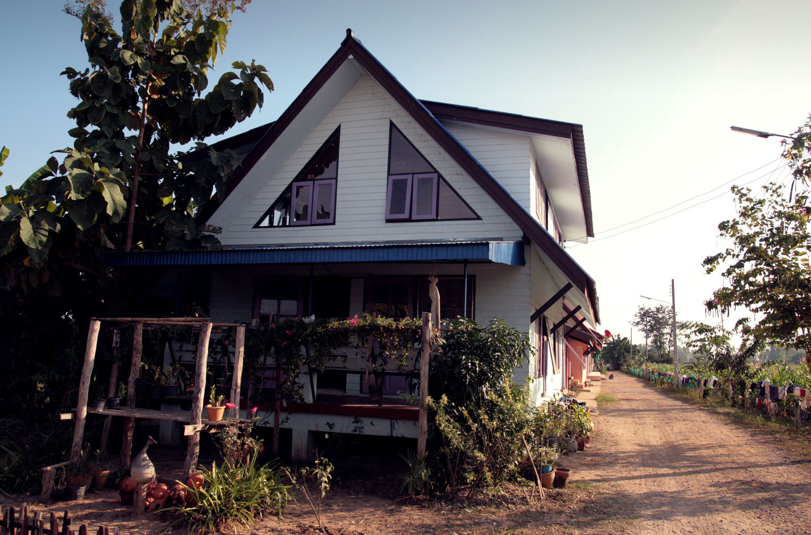 Video Thumbnail - Photography taken in Thailand of one of the Not For Sale village's house.
