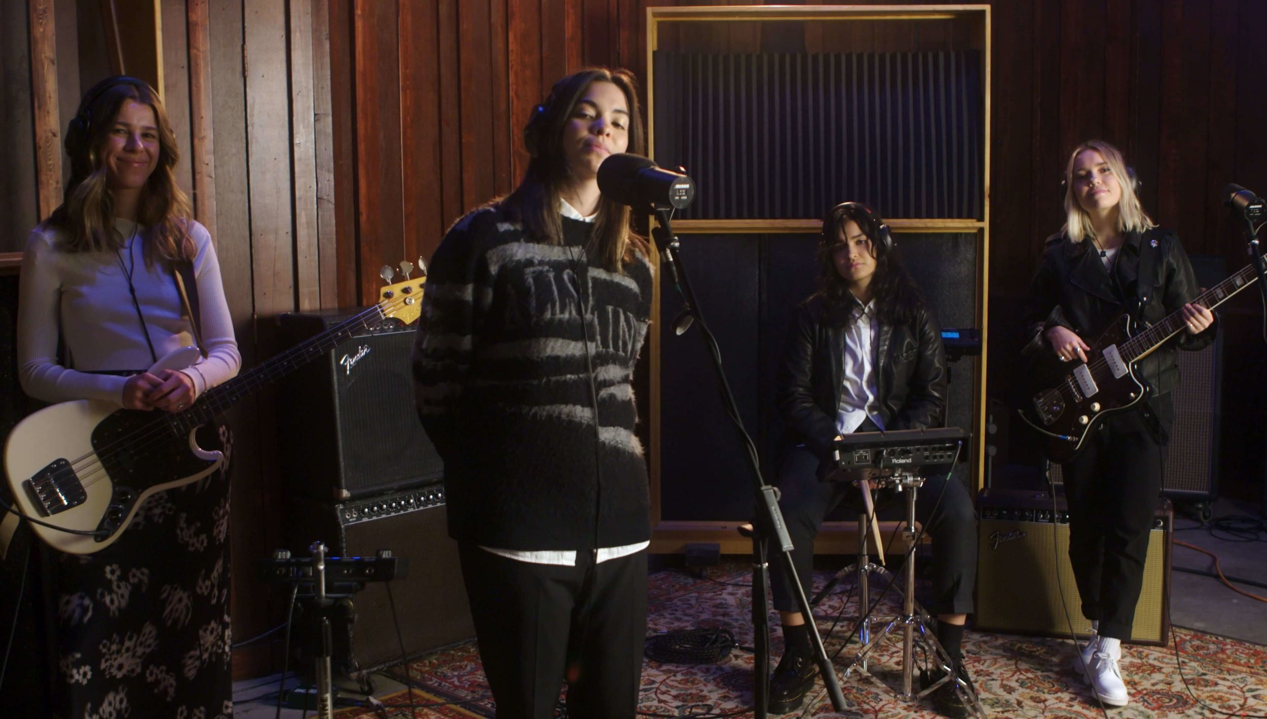 Video of The Aces performing their song, Daydream, for our last LA Session.