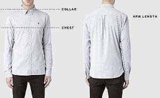 Men's shirts size guide