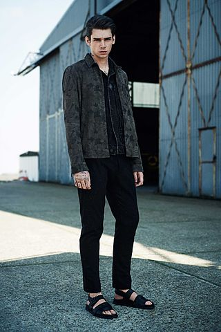 Lookbook Homme // Runway 2015