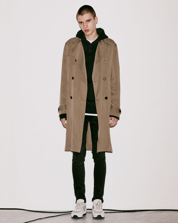 Lookbook image of a man wearing the latest collection
