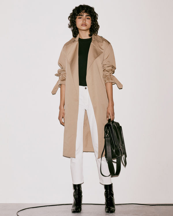 Lookbook image of a woman wearing the latest collection
