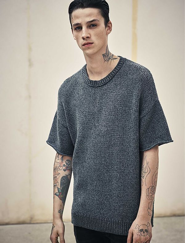 AllSaints UK men's knitwear