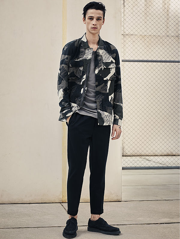 AllSaint UK men's lookbook