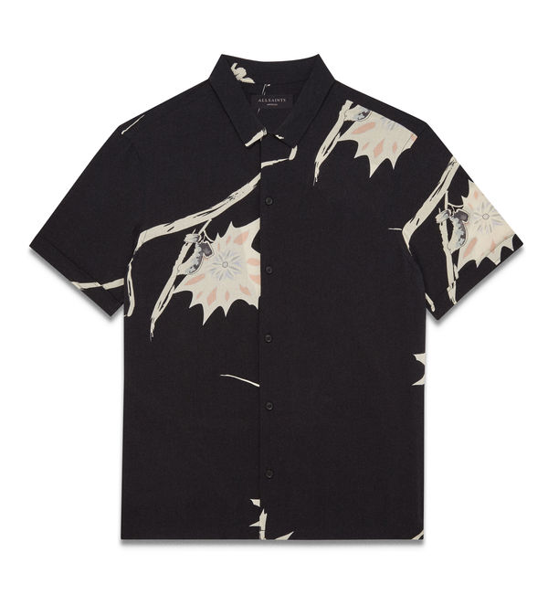 Mokapu Shirt - Jet Black