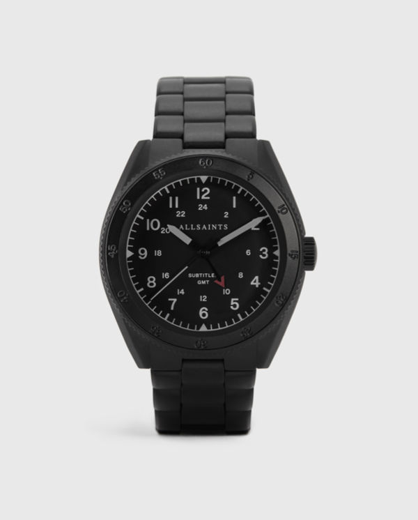 Product shot of the Subtitled V watch.