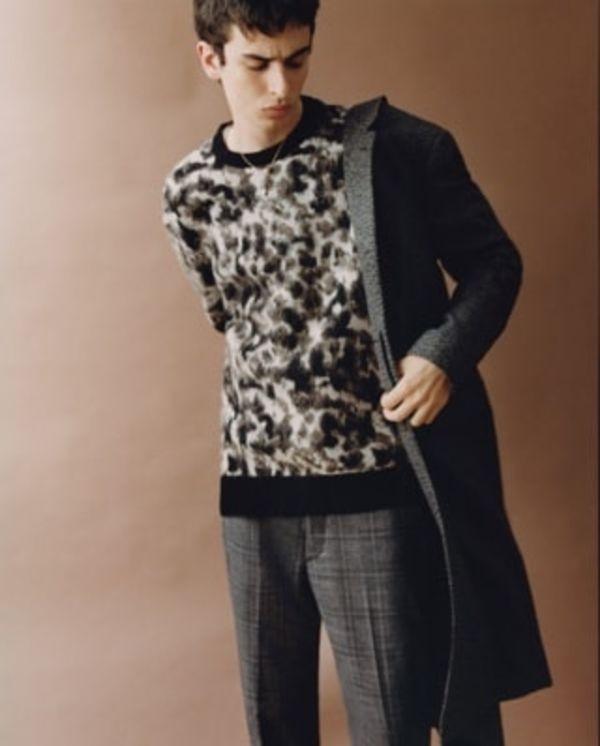 Shop men's knitwear.