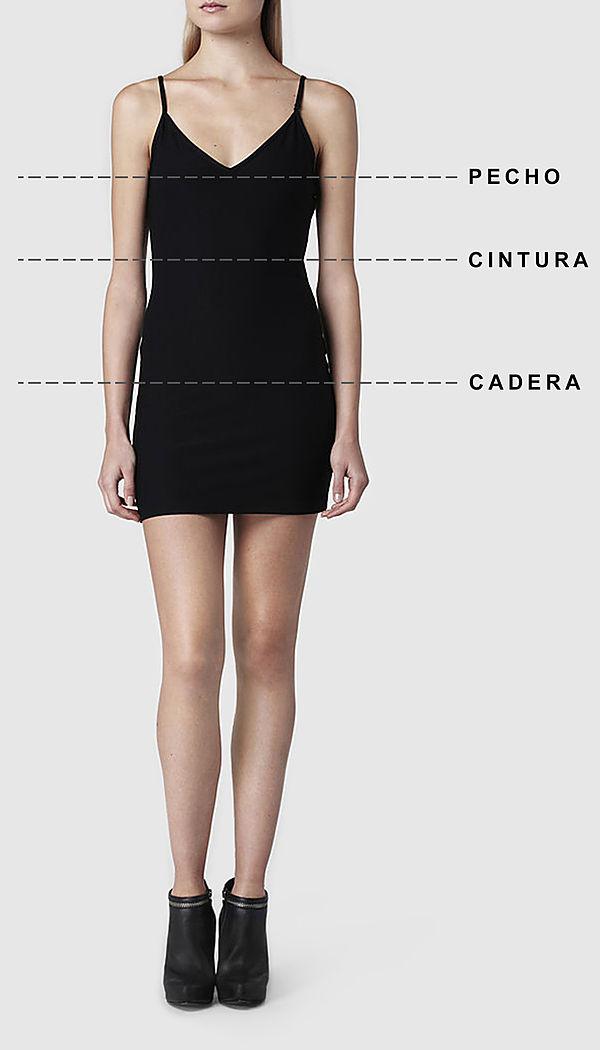 estética de lujo brillo de color última moda Guía de Tallas para Mujer