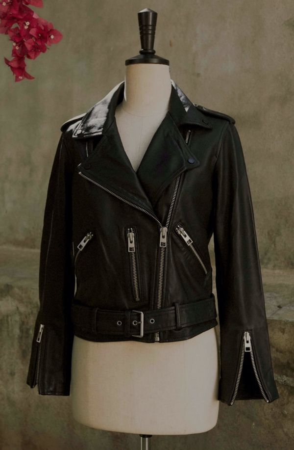 OThe AllSaints Leather Story.