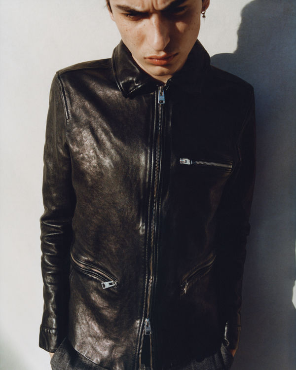 Shop The Calix Leather Jacket