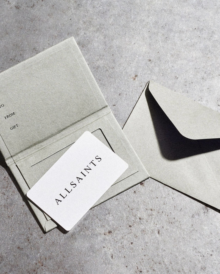 Shop AllSaints gift cards.