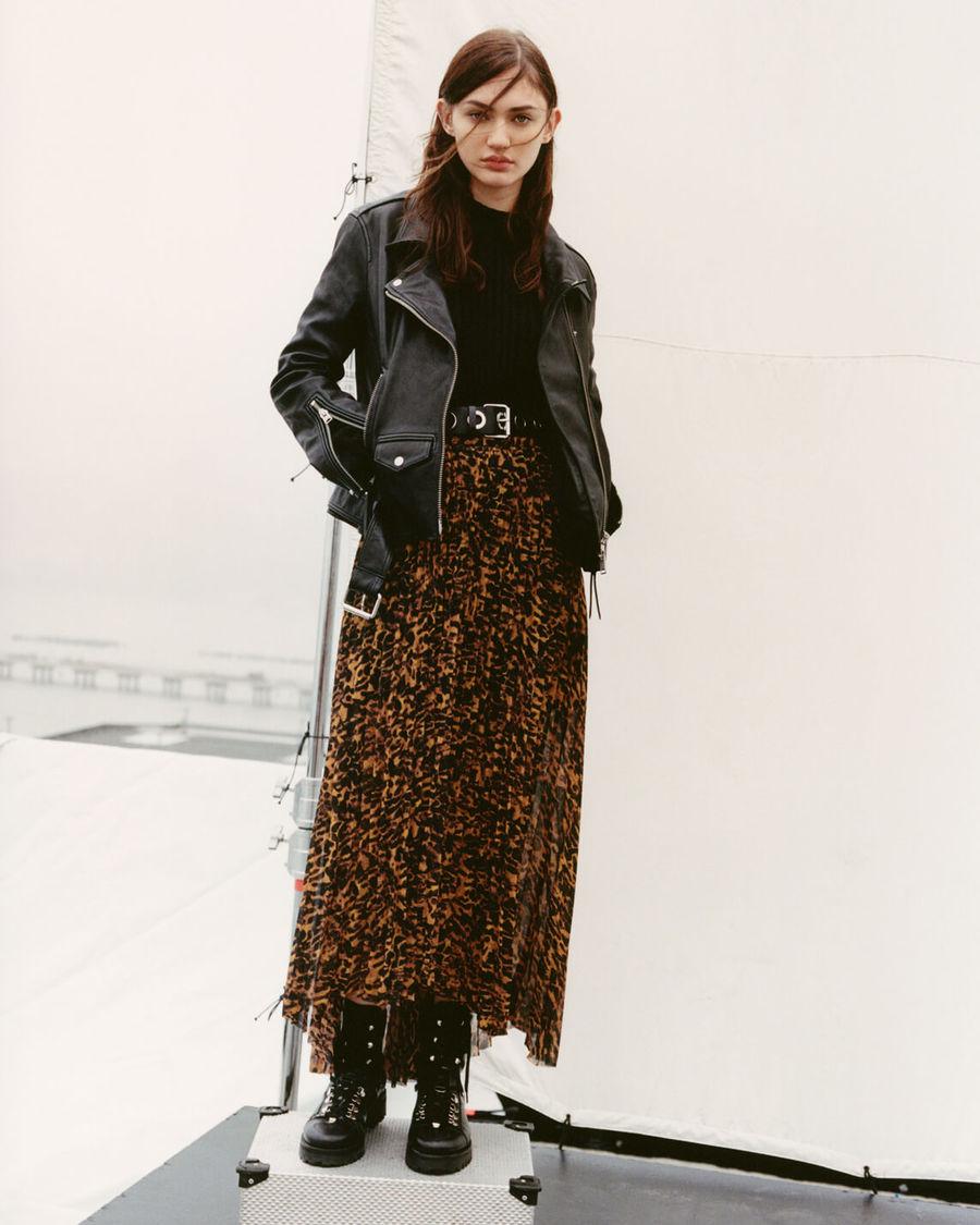 Shop the Women's Luna Leather Jacket.