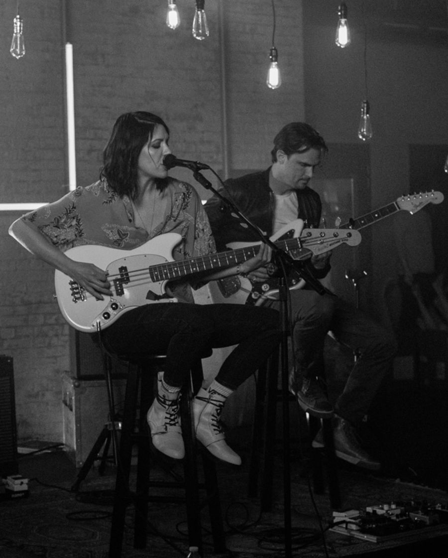 Black and white image taken during our latest LA Sessions video.