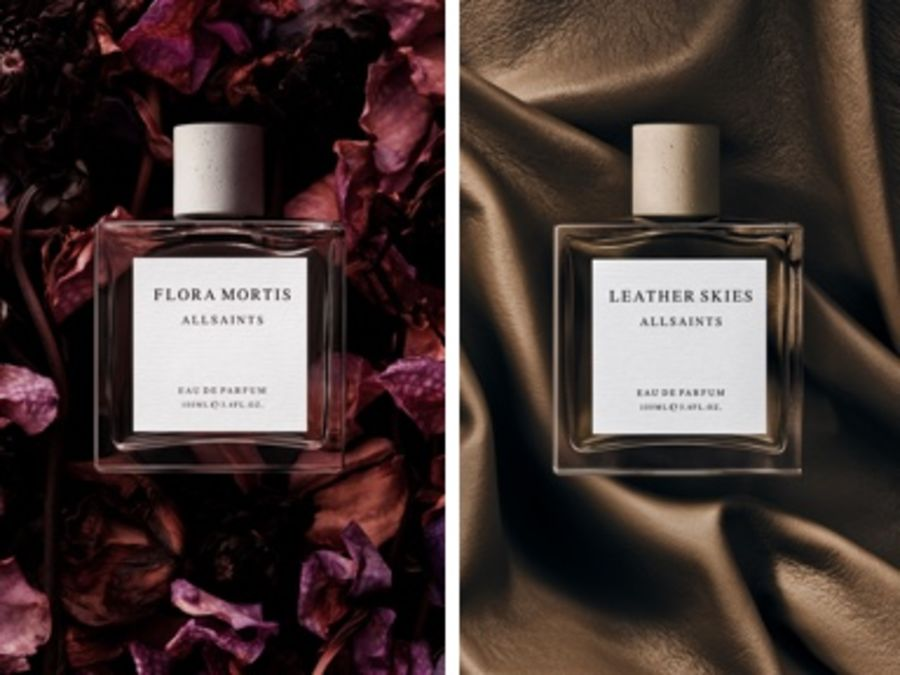 Image of our two new fragrance bottles.