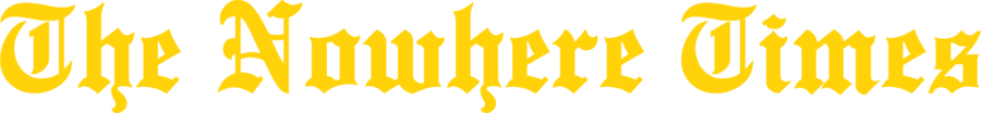 The Nowhere Times logo.