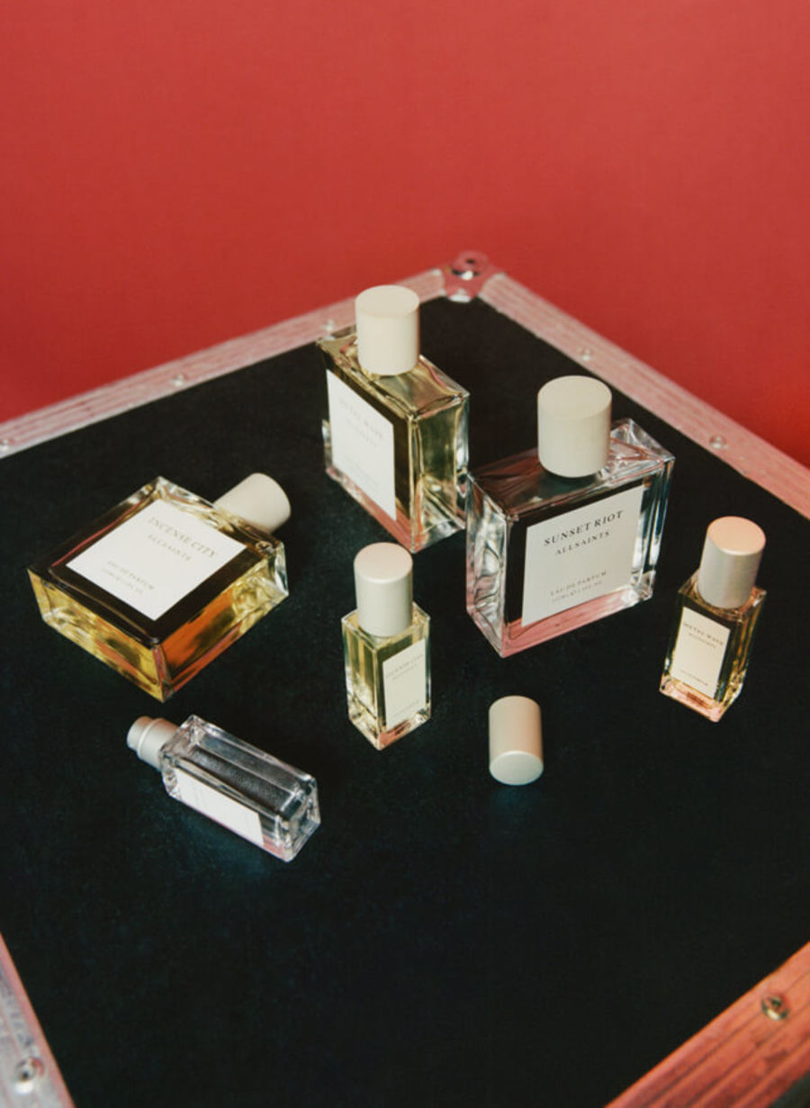 Image of our new fragrance travel set.
